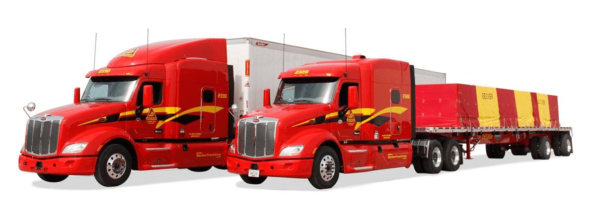 Decker Line is looking for truck drivers.